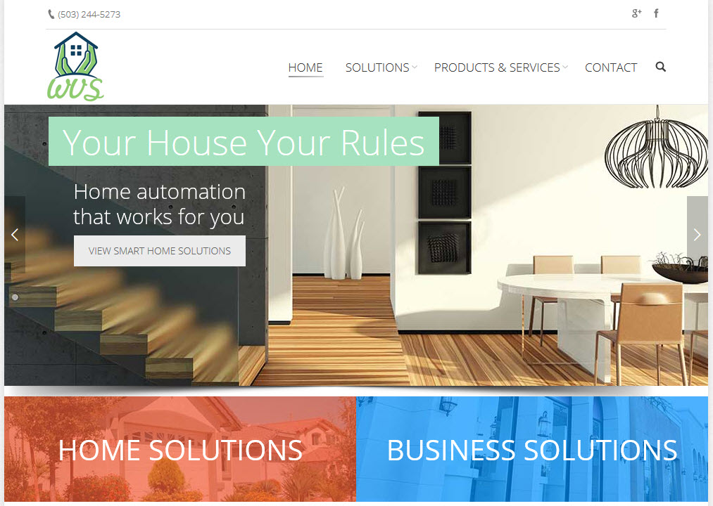 Security Systems Web Design